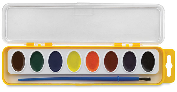 Sargent Art-Time Watercolor, 8 Pan Set