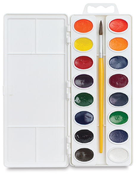 Premium Watercolors, Set of 16