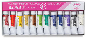 Set of 12 Colors, 15 ml Tubes