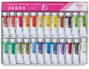 Set of 24 Colors, 15 ml Tubes