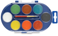 Richeson Opaque Watercolor Pan Sets