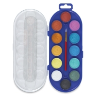 Watercolor Pans, Pearlescent, Set of 12