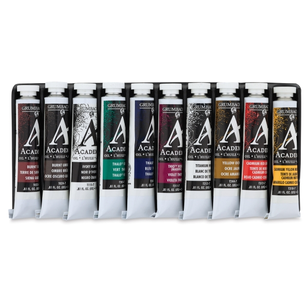 10-Color Oil Paint Set