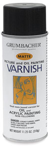 Picture Varnish, Matte