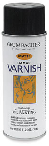 Damar Varnish, Matte