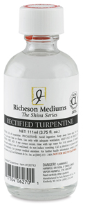 Rectified Turpentine, 3.75 oz