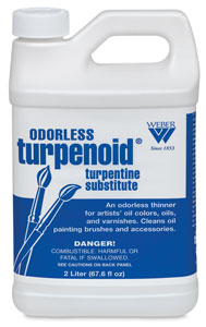 Turpenoid, 2 L (67.6 oz) Plastic Bottle