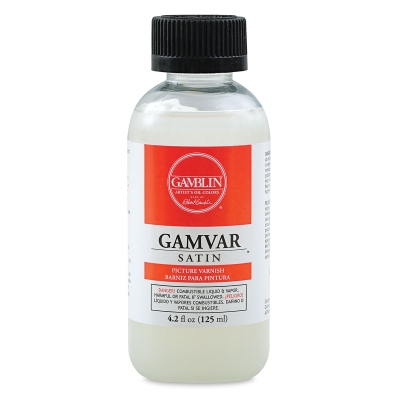 Gamvar Satin Varnish, 4.2 oz