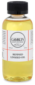 Refined Linseed Oil, 4 oz