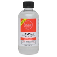 Gamvar Gloss Varnish, 8.5 oz