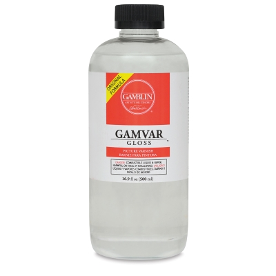 Gamvar Gloss Varnish, 16.9 oz