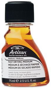 Winsor newton artisan water mixable oil painting mediums for Fast drying craft paint