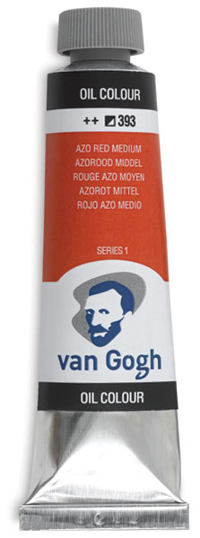40 ml Tube, Azo Red Medium