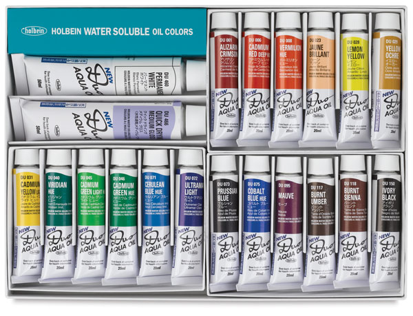 Holbein Duo Aqua Color Chart Holbein Duo Aqua Water Soluble