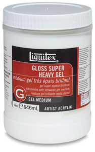 Gel Medium, Super Heavy Gloss