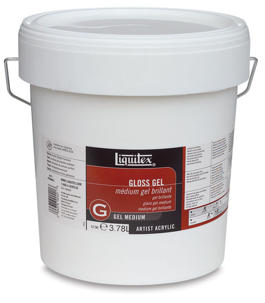 Gel Medium, Gloss (Gallon)