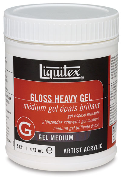 Gel Medium, Gloss Heavy