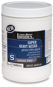 Super Heavy Gesso, 32 oz Jar