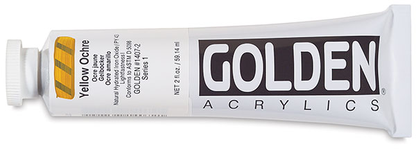 Yellow Ochre, 2 oz Tube