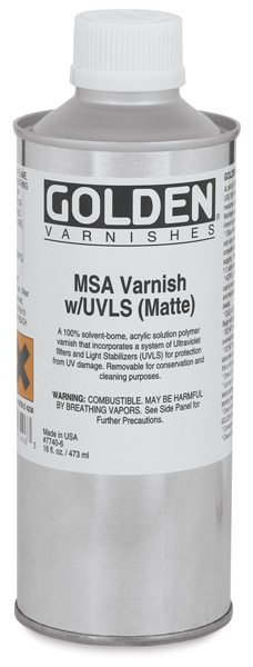 MSA Varnish, 16 oz Can