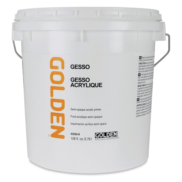 Gesso, White, Gallon