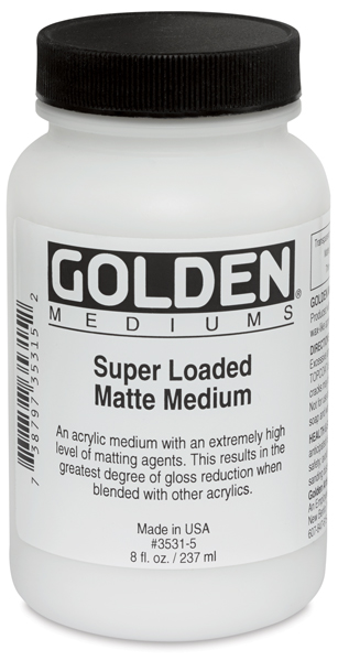 Super Loaded Matte Medium