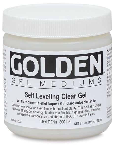 Self-Leveling Clear Gel