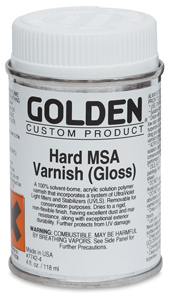 Hard MSA Varnish - Gloss, 4 oz