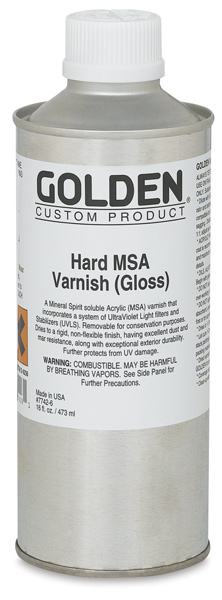 Hard MSA Varnish - Gloss, 16 oz