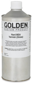 Hard MSA Varnish - Gloss, 32 oz
