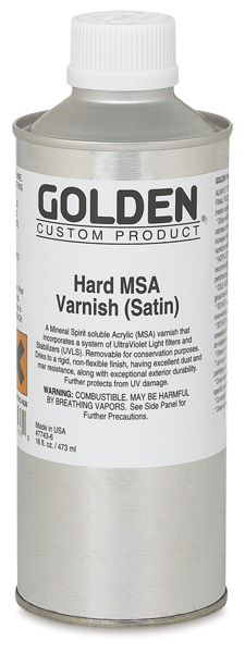 Hard MSA Varnish - Satin, 16 oz