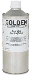 Hard MSA Varnish - Satin, 32 oz