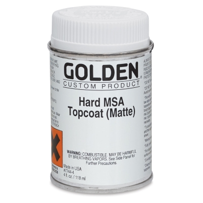 Hard MSA Varnish, Matte, 4 oz