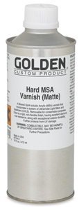 Hard MSA Varnish - Matte, 16 oz