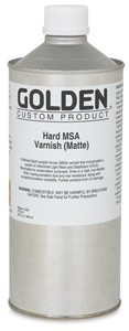 Hard MSA Varnish - Matte, 32 oz