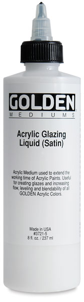 Acrylic Glazing Liquid - Satin