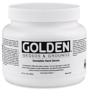 Sandable Hard Gesso, 32 oz