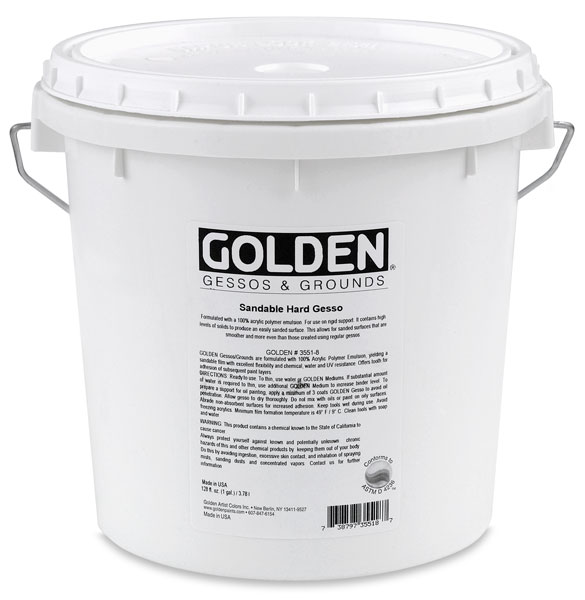 Sandable Hard Gesso, Gallon