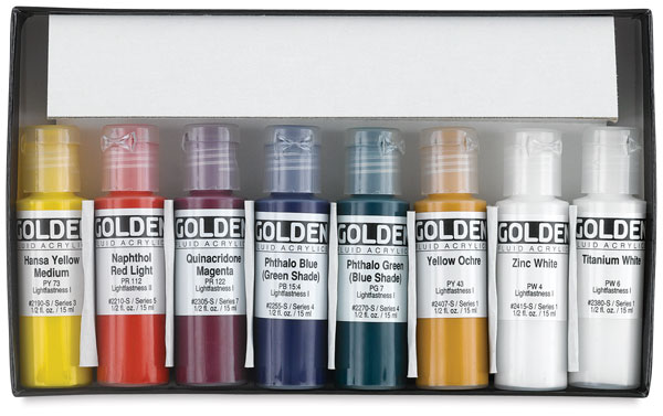 006381008 golden fluid acrylics blick art materials
