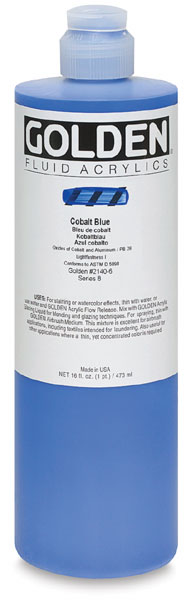 Cobalt Blue, 16 oz Bottle