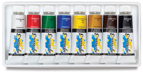 Selection Set of 8 Colors