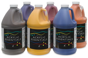 Set of 6 Secondary Colors, Half Gallons