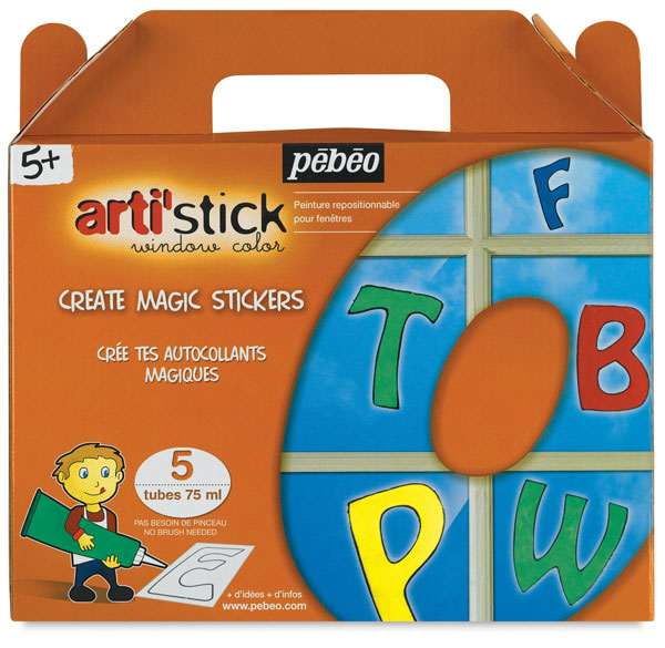 Starter Set of 5 tubes, Alphabet