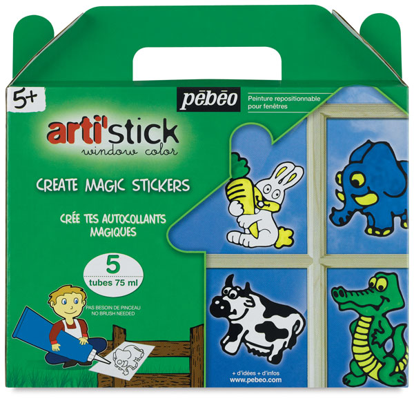 Starter Set of 5 tubes, Animals