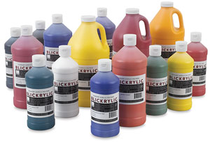 Blickrylic student acrylics blick art materials for Bottle painting materials