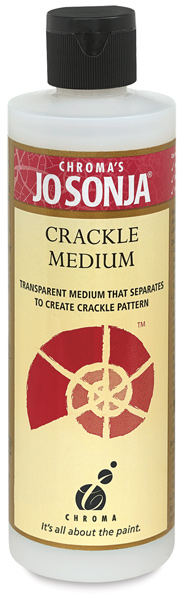 Crackle Medium, 8 oz Bottle