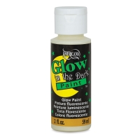 Glow-in-the-dark Paint, 2 oz