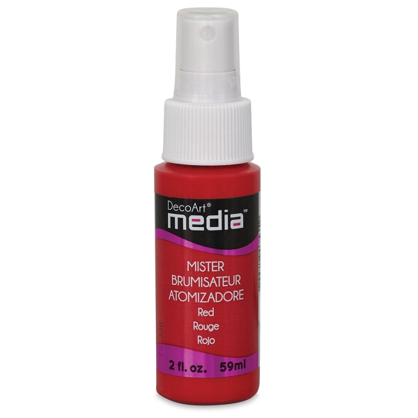 DecoArt Media Acrylic Mister, Red