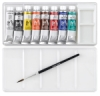 Set of 8 Colors with Brush