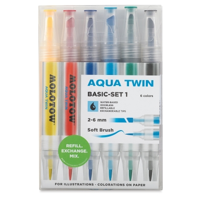 Basic Colors Set 1, Set of 6